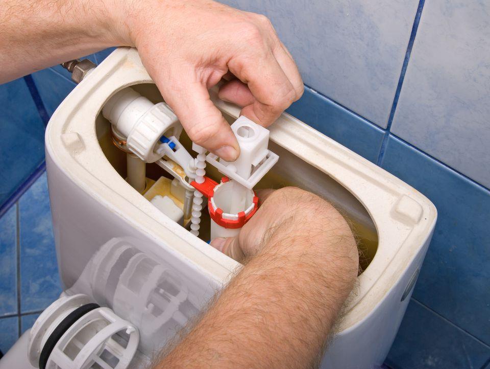 leaking toilet repair